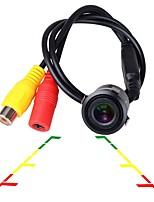 Недорогие -ziqiao универсальный hc ccd ночного видения водонепроницаемый 18.5 мм автомобильная камера заднего вида заднего вида