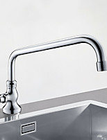 Недорогие -кухонный смеситель - Одной ручкой одно отверстие Многослойное Стандартный Носик Другое Современный Kitchen Taps