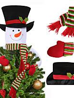 Недорогие -с рождеством христовым украшения рождественский подарок дед мороз снеговик елочные украшения куклы повесить украшения для дома