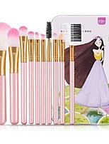 Недорогие -профессиональный Кисти для макияжа 10 шт. Мягкость Закрытая чашечка Пластик за Косметическая кисточка