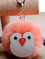 Недорогие -Брелок Пингвин корейский Милая Мода Модные кольца Бижутерия Черный / Светло-Розовый / Белый Назначение Подарок Повседневные