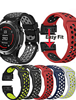 cheap -Sport Silicone Wrist Strap Watch Band For Garmin Fenix 6S / 6S Pro / Fenix 5S / 5S Plus Easy Release Quick Fit Bracelet Wristband