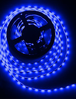 Недорогие -5 метров Гибкие светодиодные ленты / Гирлянды 300 светодиоды 5050 SMD 1 адаптер x 12V 2A Тёплый белый / Белый / Красный Творчество / Для вечеринок / Декоративная 85-265 V 1 комплект