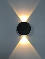 Недорогие -Мини / Милый Современный современный Настенные светильники В помещении / кафе Алюминий настенный светильник IP44 общий 4 W