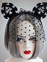 Недорогие -Жен. лакомство Массивный Винтаж Ткань Железо Хайратники Halloween Для клуба