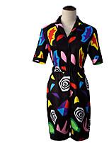 Недорогие -Вдохновлен Чужие Вещи Косплей Аниме Косплэй костюмы Японский Платья Платье Назначение Жен.