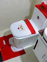 Недорогие -Сиденье для унитаза Творчество / обожаемый / Прост в применении Мультяшная тематика / Мода 100 г / м2 полиэфирный стреч-трикотаж 1 комплект - Инструменты Украшение ванной комнаты