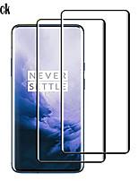 Недорогие -Защитная пленка для экрана naxtop one plus 7 pro Защитная пленка для экрана высокой четкости (hd) 2 шт. Закаленное стекло