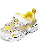 Недорогие -Мальчики / Девочки Удобная обувь Сетка Спортивная обувь Маленькие дети (4-7 лет) Беговая обувь Черный / Желтый Осень