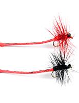 Недорогие -6 pcs Мухи Мухи Плавающий Bass Форель щука Ловля нахлыстом Пресноводная рыбалка Ловля карпа Металл