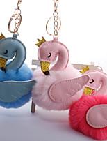 Недорогие -Брелок Птица корейский Милая Мода Модные кольца Бижутерия Черный / Винный / Белый Назначение Повседневные На выход
