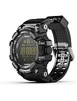 Недорогие -S1 Smart Watch Bluetooth Поддержка фитнес-трекер уведомлять / сжигать калории монитор Спорт водонепроницаемый SmartWatch совместимый Samsung / Android / Iphone