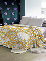 Недорогие -Китай связал одеяло ватки фланели 100% полиэстер колени теплые одеяла броска на зиму