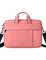 cheap -13.3 Inch Laptop / 14 Inch Laptop / 15.6 Inch Laptop Sleeve / Briefcase Handbags / Tablet Cases Polyester Solid Colored for Men for Women for Business Office Waterpoof Shock Proof