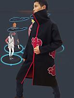 Недорогие -Вдохновлен Наруто Косплей Аниме Косплэй костюмы Японский Косплей вершины / дна Пальто Назначение Муж. / Жен.
