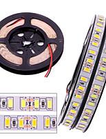 Недорогие -гибкие светодиодные ленты 12v smd 5730 светодиодные ленты 600 светодиодов не водонепроницаемые световые полосы изменяющая цвет упаковка по 5 м