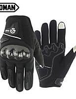 Недорогие -мужские перчатки с полным пальцем унисекс из углеродного волокна / из микрофибры / из полиэстера с сенсорным экраном / теплые / износостойкие