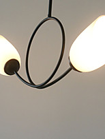 Недорогие -2-Light Шары / Мини Потолочные светильники Рассеянное освещение Окрашенные отделки Металл обожаемый 110-120Вольт / 220-240Вольт