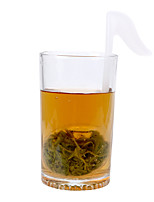 Недорогие -музыкальная нота форма заварки чая милый диффузор листьев творческий пластиковые пустые пакетики чая
