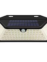 Недорогие -1шт 2 W Внешние настенные светильники / Светодиодный уличный фонарь / Солнечный свет стены Водонепроницаемый / Работает от солнечной энергии / Инфракрасный датчик Белый 3.7 V