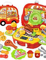 Недорогие -Ролевые игры Специально разработанный Взаимодействие родителей и детей ABS + PC Детские Все Игрушки Подарок 31 pcs