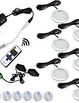 Недорогие -ONDENN 1 комплект 2 W 1200 lm 6 Светодиодные бусины Диммируемая Простая установка Новый дизайн LED освещение для шкафчиков Тёплый белый Белый 85-265 V Детская комната Кухня Гостиная / столовая / RoHs