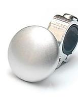 Недорогие -стайлинг автомобиля усилитель руля рулевое колесо с металлическим усилителем шариковая ручка