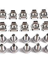 Недорогие -10 шт. Продвинутые гайки стойки клетки болты m5 * m5 * 20 модели a1826 предметов