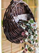 Недорогие -1шт Вазы и корзины Круглые Искуственные цветы Настольная Настенная