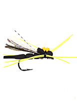 Недорогие -4 pcs Мухи Мухи Плавающий Bass Форель щука Ловля нахлыстом Пресноводная рыбалка Ловля карпа Металл / Обычная рыбалка