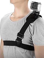 Недорогие -Нагрудный ремень Липкий Стреч Сотовый телефон Для Экшн камера Путешествия Стрельба Альпинизм ABS + PC