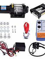 Недорогие -Электрический набор лебедки спасения 4000lbs для тележки трейлера atv с беспроволочным дистанционным управлением