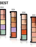 Недорогие -4 цвета влажный Консилер / Повседневная Консилер # Мода Водонепроницаемый / Модный дизайн / прочный На каждый день / фестиваль Составить косметический