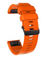 cheap -Watch Band for Fenix 5x / Fenix 5x Plus / Fenix 3 HR Garmin Sport Band Silicone Wrist Strap