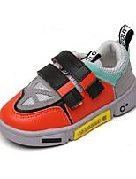 Недорогие -Мальчики Удобная обувь Полиуретан Спортивная обувь Маленькие дети (4-7 лет) Беговая обувь Черный / Серый / Красный Осень