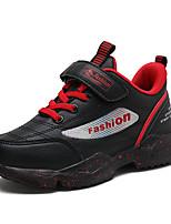 Недорогие -Мальчики Полиуретан Спортивная обувь Большие дети (7 лет +) Удобная обувь Для прогулок Красный / Синий / Розовый Осень
