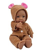 Недорогие -NPK DOLL Куклы реборн Куклы Мальчики Девочки 12 дюймовый Безопасность Подарок Очаровательный Детские Универсальные / Девочки Игрушки Подарок