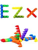 Недорогие -Конструкторы 1 pcs Креатив совместимый Legoing Для школы Ручная работа Взаимодействие родителей и детей Все Игрушки Подарок