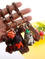 Недорогие -Брелок Собаки Медведи корейский Милая Мода Модные кольца Бижутерия Зеленый / Красный / Коричневый Назначение Повседневные