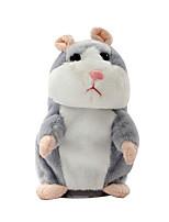 Недорогие -нахальный хомячок говорящий домашнее животное мягкая игрушка милый звук рождественский подарок ребенку без батареи