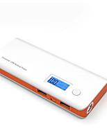 Недорогие -Банк силы 10000mAh двойной usb светодиодный жк-дисплей для iphone x xs max xr xiaomi samsung huawei lg htc asus nokia большая емкость