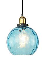 Недорогие -JSGYlights Мини Подвесные лампы Рассеянное освещение Окрашенные отделки Металл Стекло Новый дизайн 110-120Вольт / 220-240Вольт