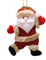 Недорогие -рождество висят украшения рождество снеговик елка висячие украшения подарок дед мороз олень висят украшения