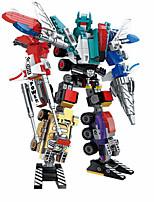 Недорогие -Конструкторы 498 pcs совместимый Legoing трансформируемый Все Игрушки Подарок