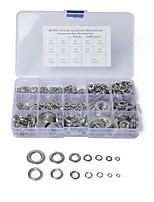 Недорогие -450шт / комплект пружинная шайба м3-12м плоская шайба круглые прокладки из нержавеющей стали stylea1663