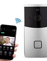 Недорогие -Factory OEM HH-D02 WIFI Запись Нет экрана (выход на APP) Телефон Один к одному видео домофона