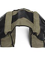 Недорогие -Мотоциклетные седельные сумки, холст, рюкзак, велосипед, многоцелевая сумка для багажа, армейский зеленый