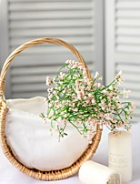 Недорогие -1шт Вазы и корзины Нерегулярная форма Искуственные цветы Ткань Рустикальный Художественный Природа