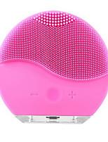 Недорогие -Ультразвуковая электрическая чистка лица щетка для мытья лица вибрации кожи для удаления угрей очиститель пор массаж usb аккумуляторная