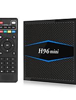 Недорогие -H96 Mini TV Box Android 7.1 Smart TV Box 2 ГБ оперативной памяти 16 ГБ ROM Amlogic S905W четырехъядерный процессор H.265 4K 2,4 г / 5 г Wi-Fi Bluetooth 4,0 H96mini Full HD Media Player Kodi17,6